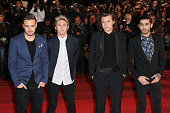 Liam Payne Niall Horan Harry Styles and Zayn Malik of One Direction arrive at the 16th NRJ Music Awards at the Palais des Festivals on December 13...
