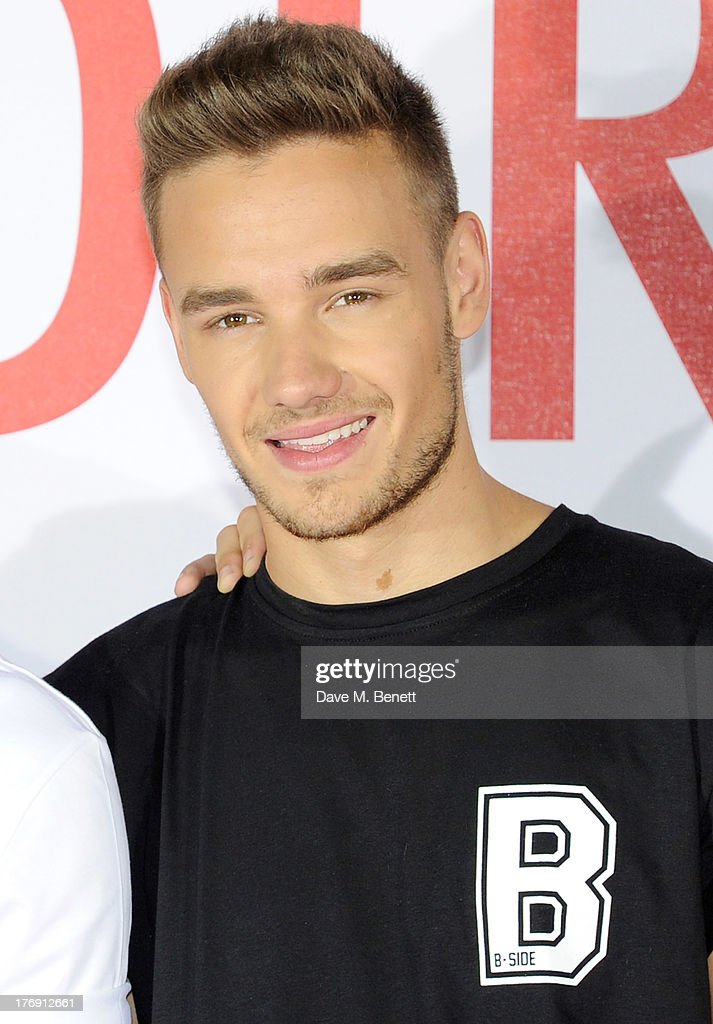 <a gi-track='captionPersonalityLinkClicked' href=/galleries/search?phrase=Liam+Payne&family=editorial&specificpeople=7235152 ng-click='$event.stopPropagation()'>Liam Payne</a> of One Direction attends a photocall to launch their new film 'One Direction: This Is Us 3D' at Big Sky Studios on August 19, 2013 in London, England.