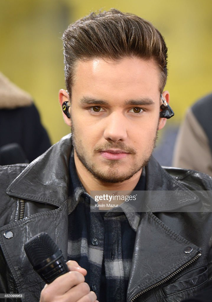 Liam Payne of One Direction performs on ABC's 'Good Morning America' at Rumsey Playfield, Central Park on November 26, 2013 in New York City.