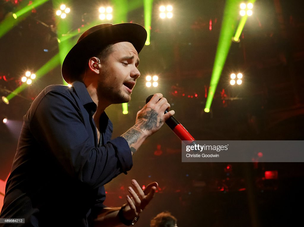 Liam Payne of One Direction performs on stage as part of Apple Music Festival at The Roundhouse on September 22 2015 in London England