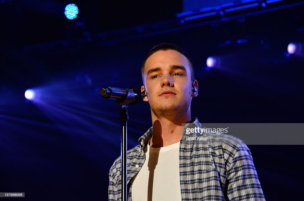 Liam Payne of the group One Direction performs onstage during Z100's Jingle Ball 2012 presented by Aeropostale at Madison Square Garden on December 7, 2012 in New York City.