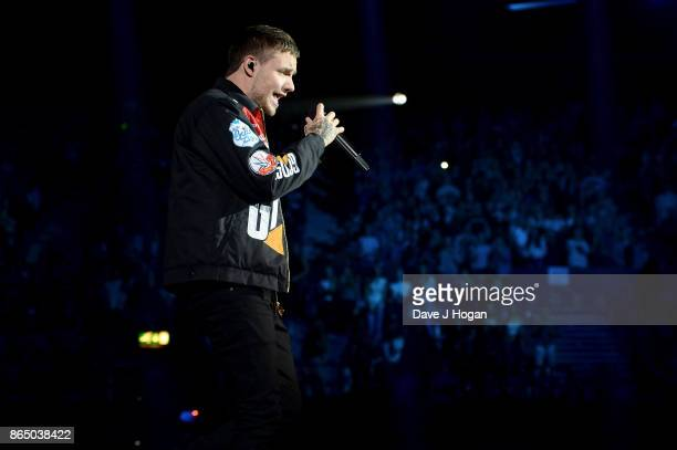 Liam Payne performs on stage at the BBC Radio 1 Teen Awards 2017 at Wembley Arena on October 22 2017 in London England