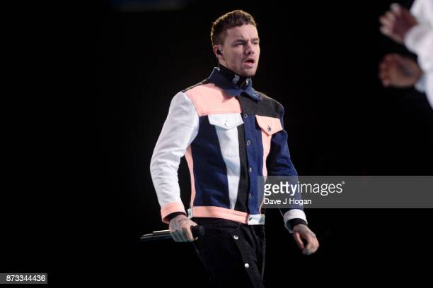 Liam Payne performs on stage during the MTV EMAs 2017 held at The SSE Arena Wembley on November 12 2017 in London England