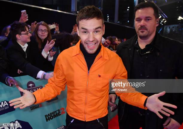 Liam Payne poses at the MTV EMAs 2017 held at The SSE Arena Wembley on November 12 2017 in London England