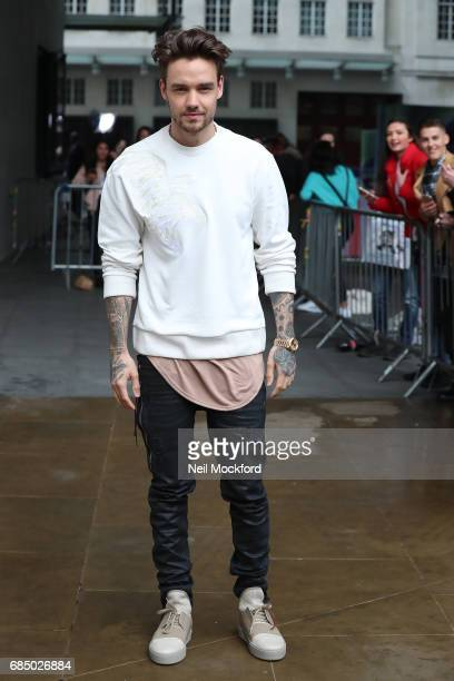 Liam Payne seen at BBC Radio One promoting his new single on May 19 2017 in London England