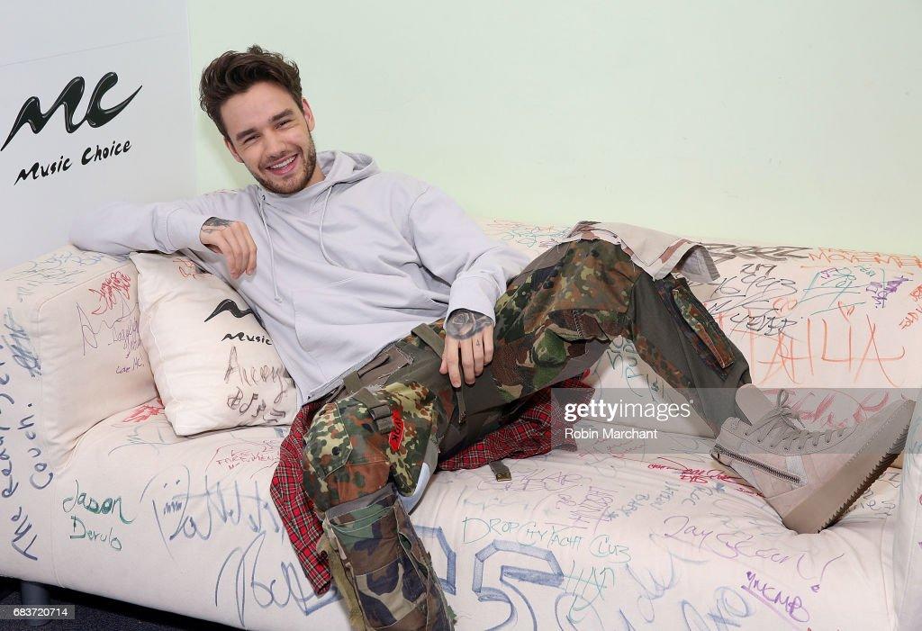 Liam Payne Visits Music Choice