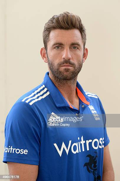 Liam Plunkett of England poses for a portrait at Zayed Cricket Stadium on November 10 2015 in Abu Dhabi United Arab Emirates