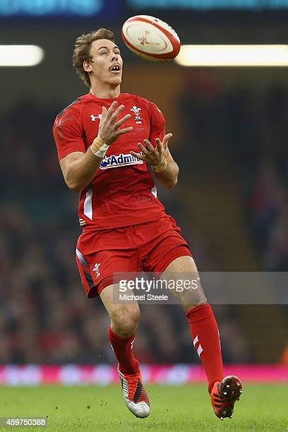 Liam Williams of Wales during the International match betwwen Wales and South Africa at the Millennium Stadium on November 29 2014 in Cardiff Wales