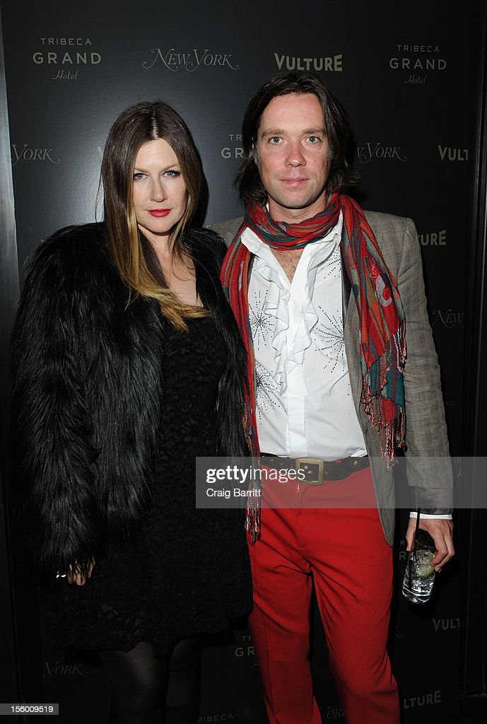 Lian Lunson and <a gi-track='captionPersonalityLinkClicked' href=/galleries/search?phrase=Rufus+Wainwright&family=editorial&specificpeople=206122 ng-click='$event.stopPropagation()'>Rufus Wainwright</a> attend 'Sing Me The Songs That Say I Love You: A Concert For Kate McGarrigle' premiere after party at Tribeca Grand Hotel on November 10, 2012 in New York City.