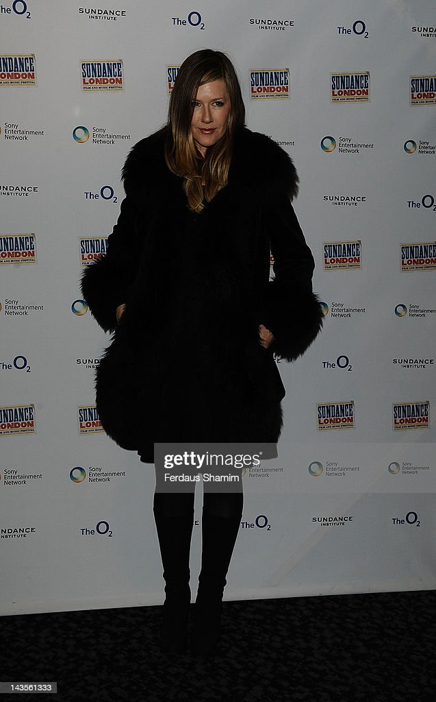 Lian Lunson attends the premiere of 'Sing Me The Songs That Say I Love You', as part of the Sundance London Film & Music Festival at Cineworld 02 Arena on April 29, 2012 in London, England.