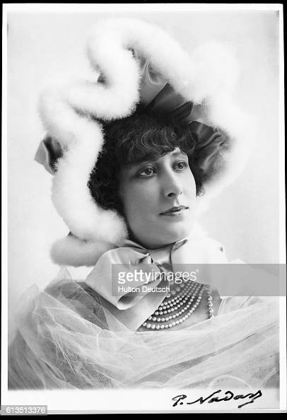 Liane de Pougy photographed by Nadar circa 1900 French photographer Nadar is noted for his outstanding photographs mostly portraits taken between...