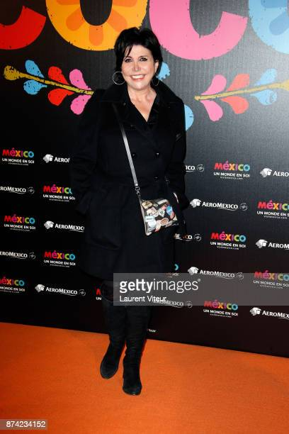 Liane Foly attends 'Coco' Special Screening at Le Grand Rex on November 14 2017 in Paris France