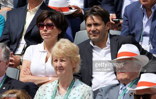 Liane Foly attends Day 12 of the French Open 2014 held at RolandGarros stadium on June 5 2014 in Paris France
