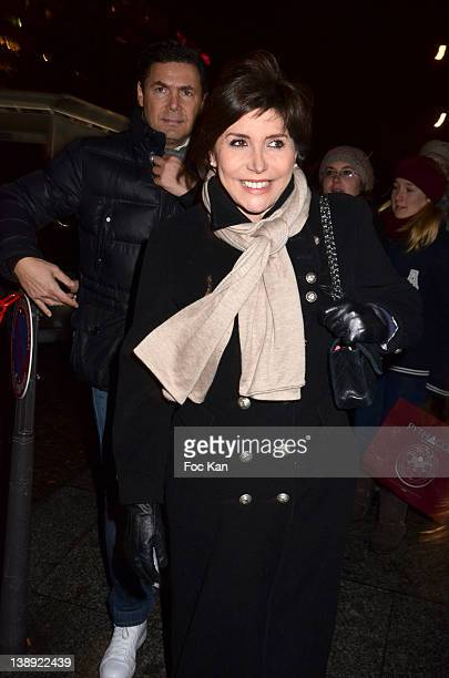 Liane Foly attends the 'Adam Eve La Seconde Chance' Generale Arrivals at the Palais des Sports on February 13 2012 in Paris France