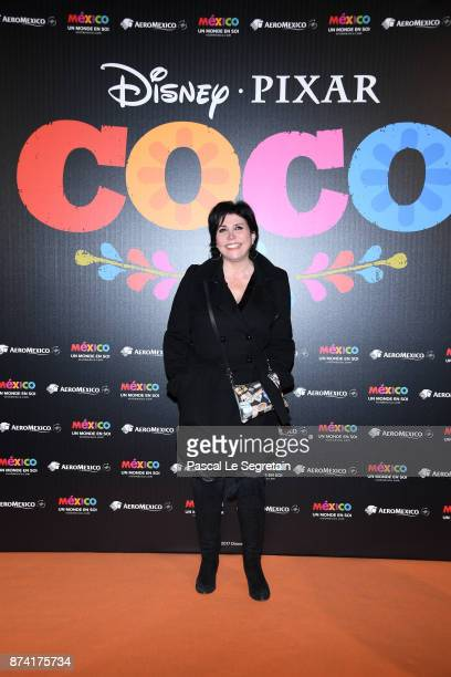 Liane Foly attends the 'Coco' Paris Special Screening at Le Grand Rex on November 14 2017 in Paris France