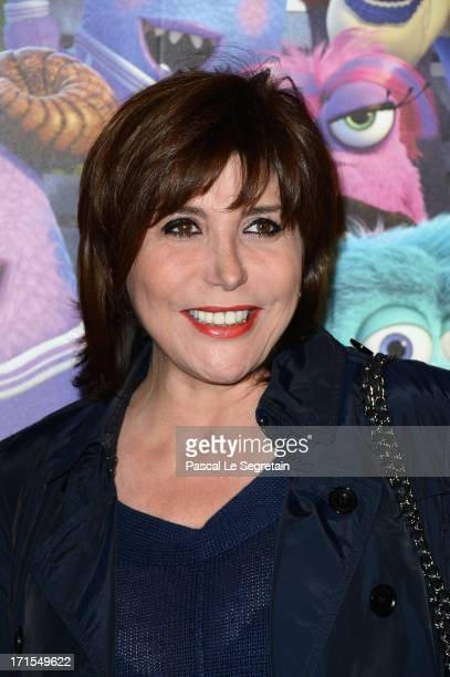 Liane Foly attends the Paris premiere of 'Monsters University' at La Sorbonne on June 26 2013 in Paris France