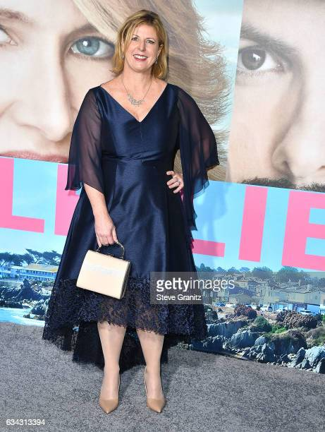 Liane Moriarty arrive at the Premiere Of HBO's 'Big Little Lies' at TCL Chinese Theatre on February 7 2017 in Hollywood California
