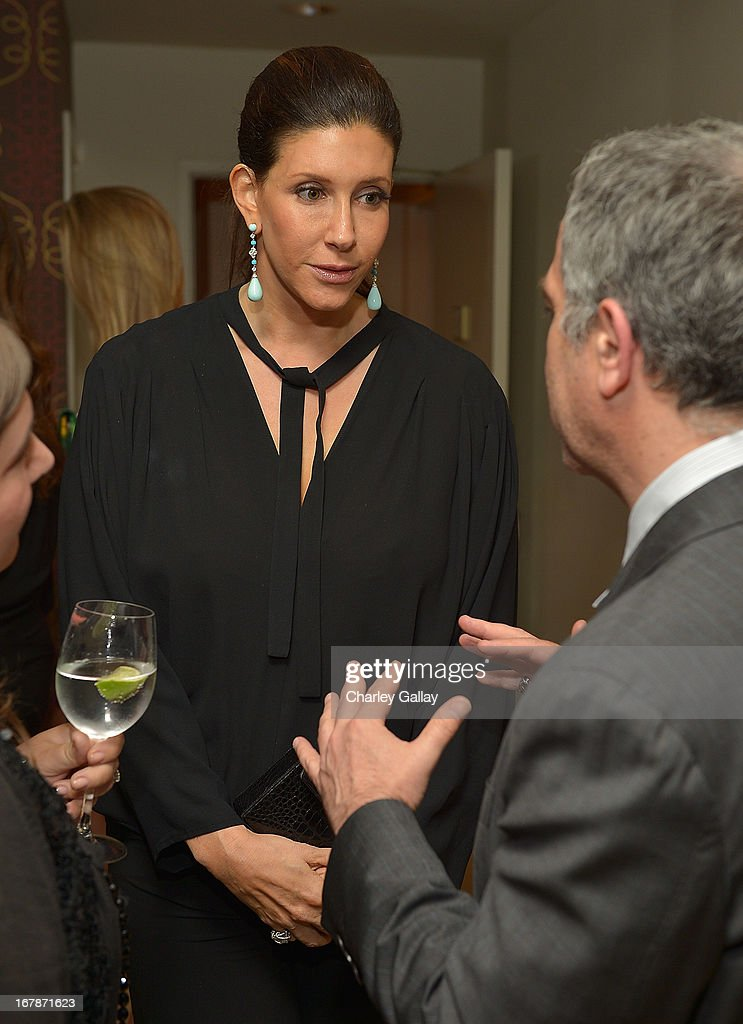 Liane Weintraub attends the David Webb Dinner in honor of LAXART at Sunset Tower on May 1, 2013 in West Hollywood, California.