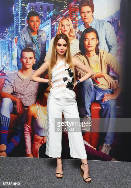 Lianna Perdis arrives ahead of the Dance Academy World Premiere at Event Cinemas George Street on March 26 2017 in Sydney Australia
