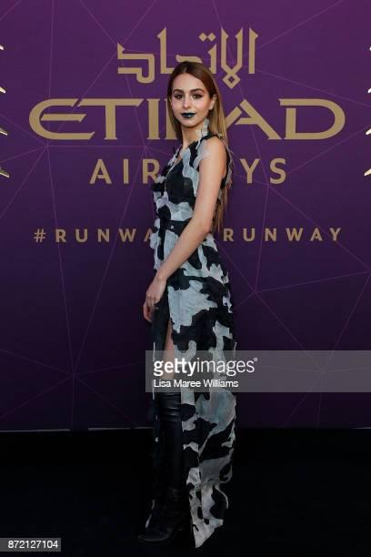 Lianna Perdis arrives at the 2017 Australian Fashion Laureate Awards on November 9 2017 in Sydney Australia