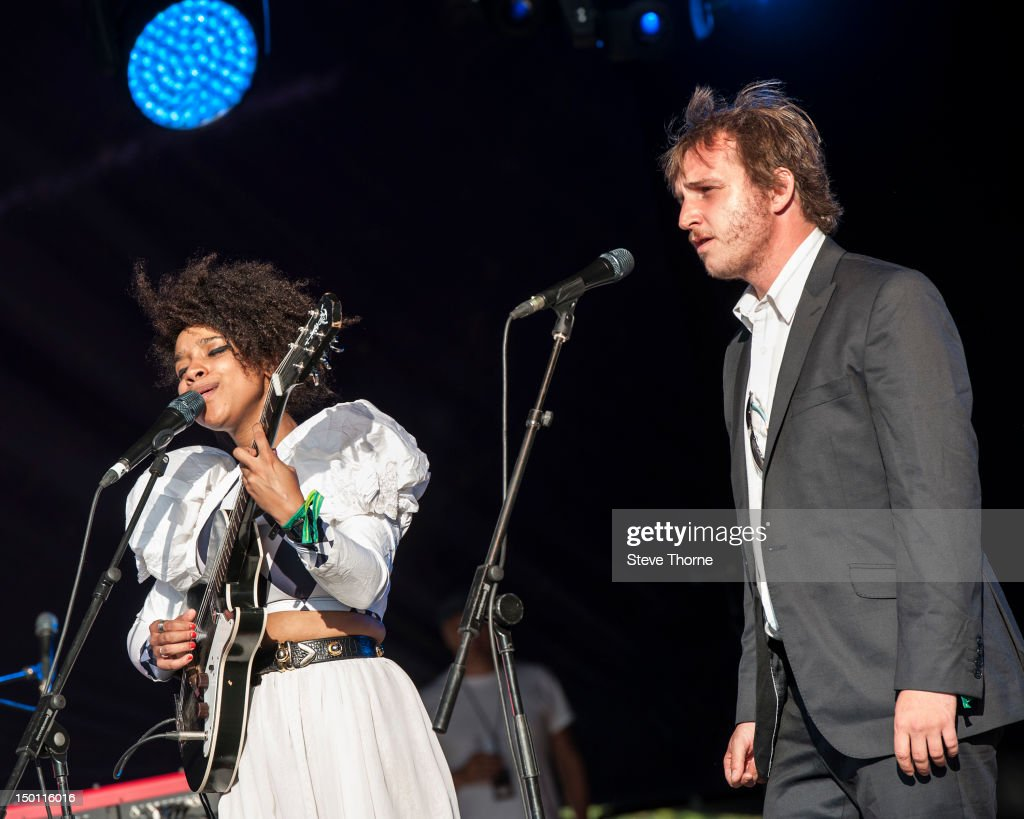 <a gi-track='captionPersonalityLinkClicked' href=/galleries/search?phrase=Lianne+La+Havas&family=editorial&specificpeople=8664655 ng-click='$event.stopPropagation()'>Lianne La Havas</a> and Willy Mason perform on stage during Wilderness Festival at Cornbury Park on August 10, 2012 in Oxford, United Kingdom.
