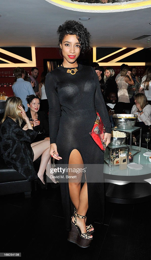 Lianne La Havas at the William Tempest x W London pyjama party in the new E WOW Suite at W London - Leicester Square on May 7, 2013 in London, England.