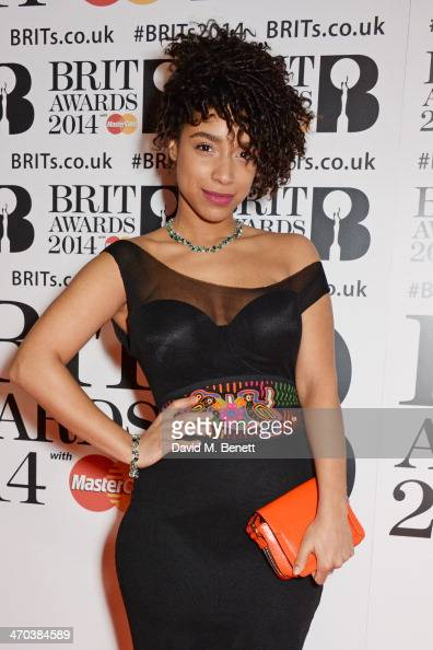 Lianne la Havas attends The BRIT Awards 2014 at the 02 Arena on February 19 2014 in London England
