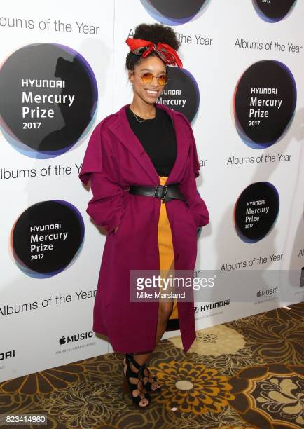 Lianne La Havas attends The Hyundai Mercury Prize at The Langham Hotel on July 27 2017 in London United Kingdom
