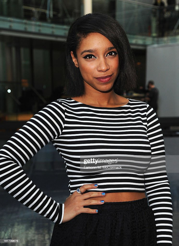 Lianne La Havas attends the London College of Fashion MA show during London Fashion Week Fall/Winter 2013/14 at The Royal Opera House on February 15, 2013 in London, England.