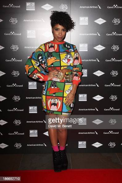 Lianne La Havas attends the MTV Staying Alive 15th Anniversary Gala at St Pancras Renaissance Hotel on November 2 2013 in London England