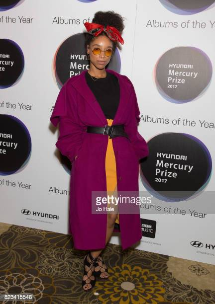 Lianne La Havas attends the nominations of the Hyundai Mercury Prize at The Langham Hotel on July 27 2017 in London England