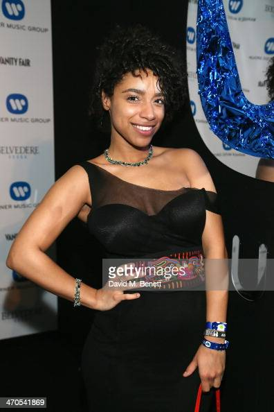 Lianne La Havas attends The Warner Music Group And Belvedere Brit Awards After Party In Association With Vanity Fair at The Savoy Hotel on February...