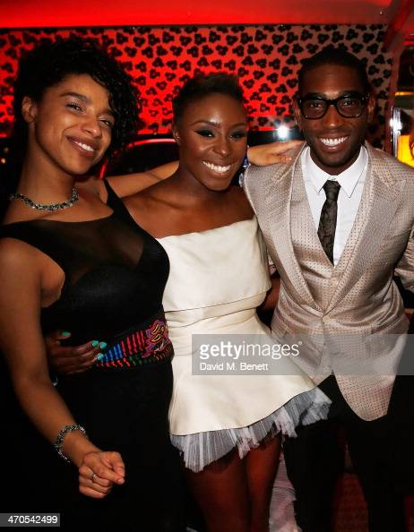 Lianne la Havas Laura Mvula and Tinie Tempah arrive at The Warner Music Group And Belvedere BRIT Awards After Party In Association With Vanity Fair...