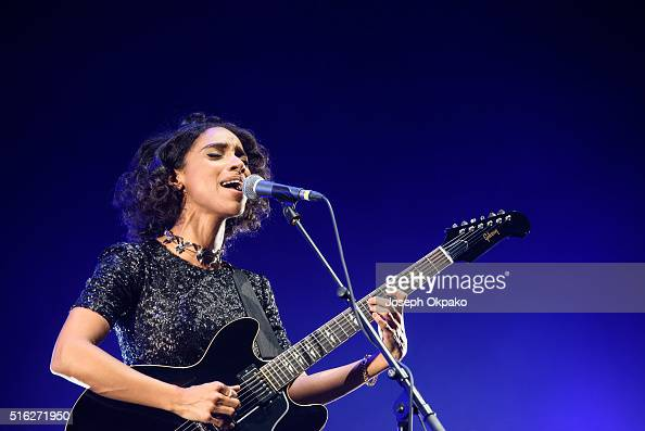 Lianne La Havas Performs at Royal Albert Hall on March 14 2016 in London England