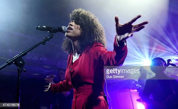 Lianne La Havas performs at Wilton's Music Hall on May 19 2015 in London England