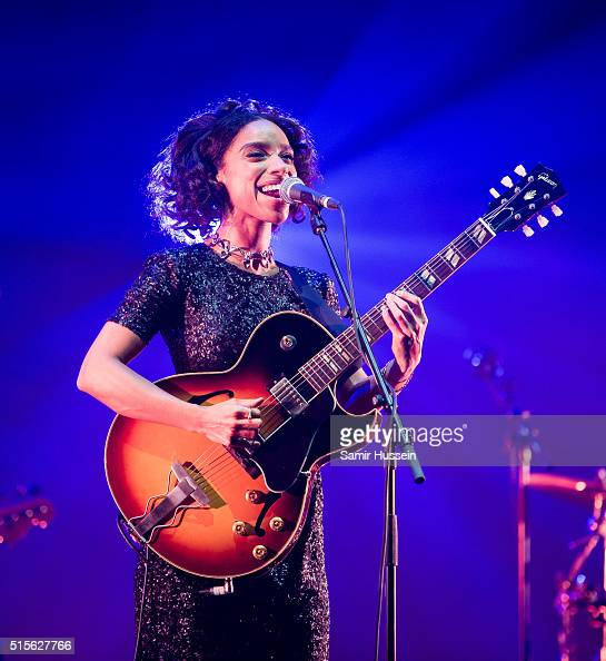 Lianne La Havas performs live at Royal Albert Hall on March 14 2016 in London England