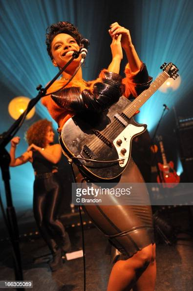 Lianne La Havas performs on stage at Shepherds Bush Empire on March 12 2013 in London England
