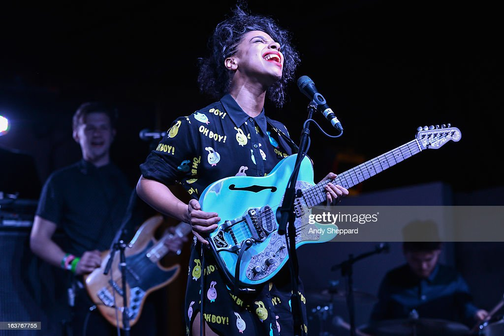 Lianne La Havas performs on stage during Day 3 of SXSW 2013 Music Festival on March 14, 2013 in Austin, Texas.