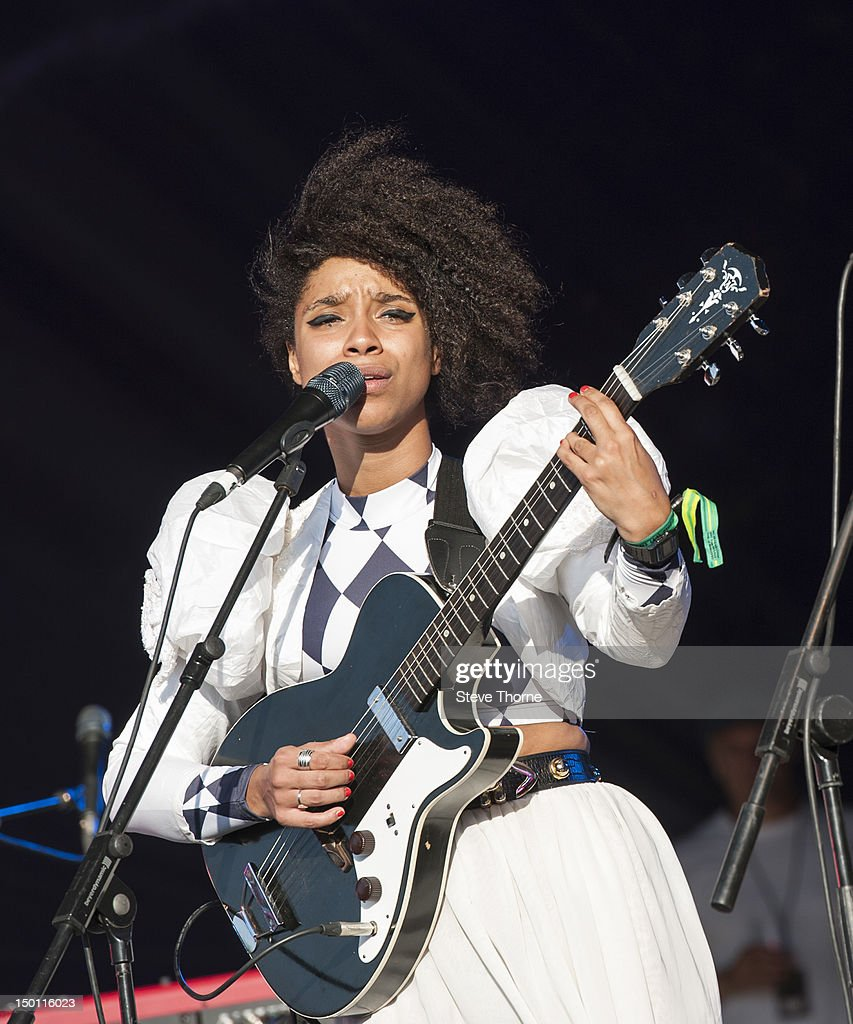 Lianne La Havas performs on stage during Wilderness Festival at Cornbury Park on August 10, 2012 in Oxford, United Kingdom.