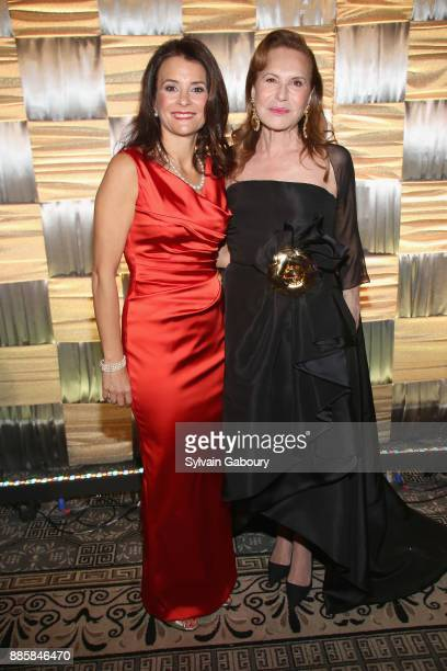 Lianne Mandelbaum and Sharyn Mann attend The 20th Anniversary Food Allergy Ball Benefiting Food Allergy Research Education at The Pierre Hotel on...
