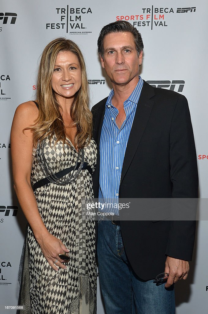 Liat Ciardi and producer Mark Ciardi attend the ESPN Sports Film Festival Gala: 'Big Shot' after party during the 2013 Tribeca Film Festival on April 19, 2013 in New York City.
