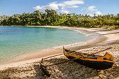 Libanona beach of Tolagaro (Fort Dauphin), southern Madagascar