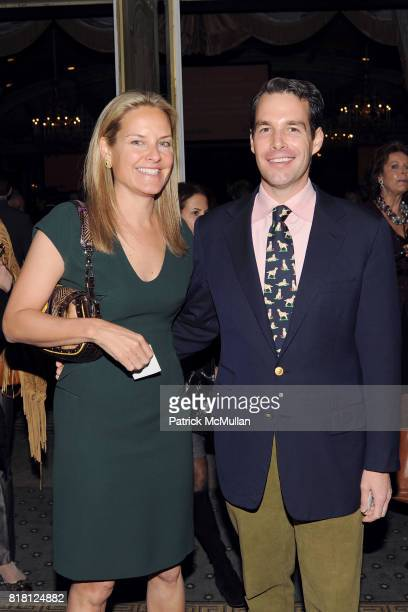 Libby Fitzgerald and Christopher Stittmiller attend 2010 ASPCA Humane Awards Luncheon Sponsored by Hartville Group at The Pierre Hotel on November 11...