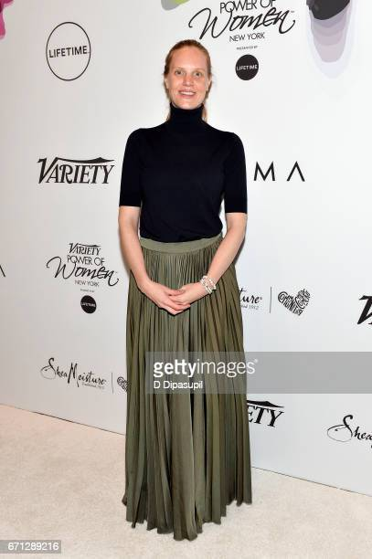 Libby Geist attends Variety's Power of Women New York at Cipriani Midtown on April 21 2017 in New York City