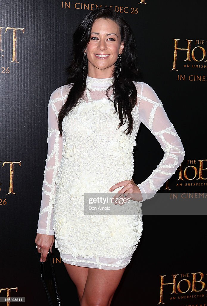 Libby Munroe attends the Sydney premiere of 'The Hobbit: An Unexpected Journey' at George Street V-Max Cinemas on December 18, 2012 in Sydney, Australia.