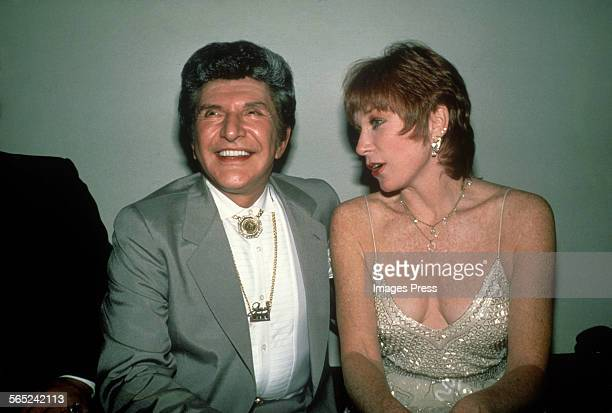 Liberace and Shirley MacLaine circa 1984 in New York City