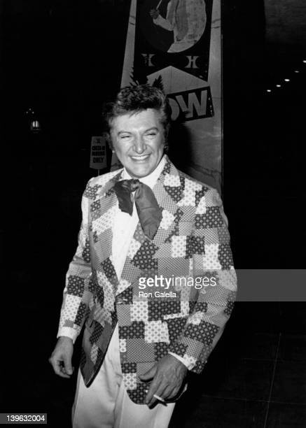 Liberace attends the grand opening of the International Hilton Hotel on April 1 1975 in Las Vegas Nevada