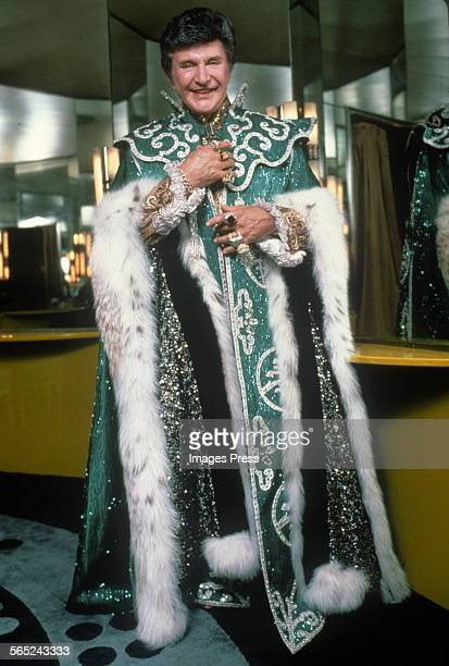 Liberace circa 1984 in New York City