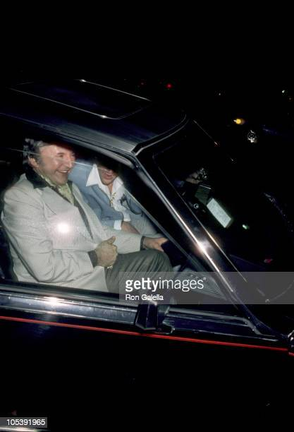 Liberace during Liberace at La Cage Aux Folles in Hollywood April 21 1981 at La Cage Aux Folles in Hollywood California United States