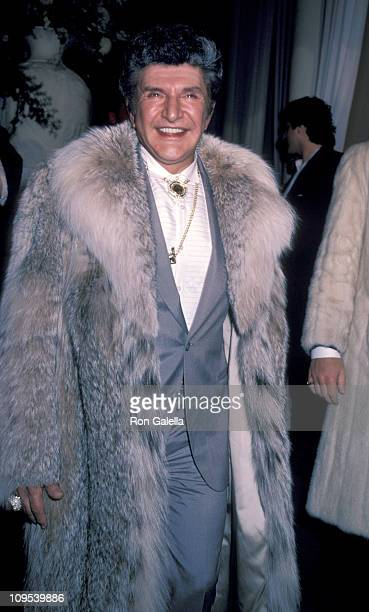 Liberace during Shirley MacLaine's 50th Birthday Party 1984 at Limelight in New York New York United States